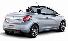 Peugeot Cabrio Neue Modelle - peugeot 208 preis ab 11 600 cabrio 208 cc und 208