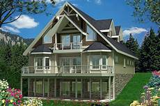 mountainside house plans mountain house plan with wheelchair accessible gue
