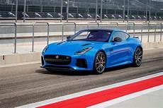 jaguar f type 2017 2017 jaguar f type svr drive smoother lighter pointier motor trend