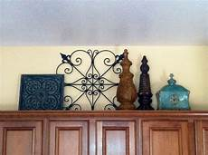 Home Goods Decor Ideas by Decorating Above Kitchen Cabinets All Items Purchased
