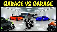 top 5 garage gta 5 garage vs garage ep 15 best cars