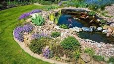 Steingarten Mit Teich - gartenteich anlegen darauf kommt es an gartengestaltung