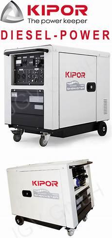 Inverter Stromerzeuger Diesel - kipor inverter stromerzeuger id6000 diesel generator