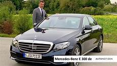 Mercedes E 300 De Limousine Alltagstest Und