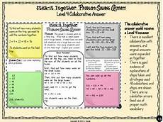 word problems collaborative worksheets 4th grade by runde s room