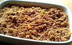 My Sugar Coated Apple Crumble Recipe