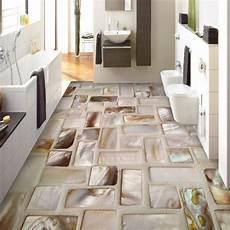 pvc tapete fliesenoptik custom photo wallpaper 3d tiles mosaic floor mural pvc