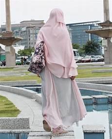 30 Cara Memakai Jilbab Gamis Syari Model Terbaru