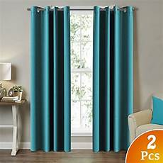 Teal Drapes Curtains by Teal Blackout Curtains