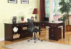 boston l shape credenza home office set from parker house