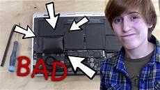 saga of the swollen macbook battery ifixit review tati