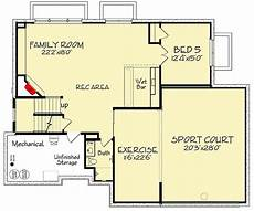 plan 73374hs exclusive five bedroom craftsman with sports