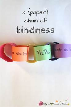 paper chains worksheets 15666 a paper chain of kindness teaching kindness kindness activities friendship activities