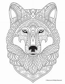 printable coloring pages for adults animals 17282 wolf coloring page with images animal coloring pages coloring animals cool