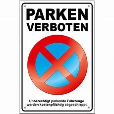 2 Parkverbotsschilder Kaufen Parken Verboten Mit L 214 Cher