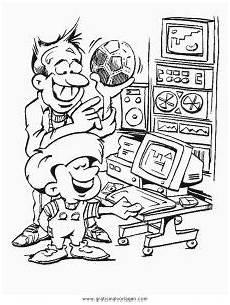 Malvorlagen Pc Ausmalen Computer Pc 12 Gratis Malvorlage In Computer Diverse