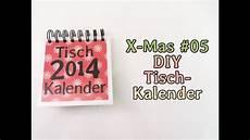 x 05 diy tischkalender 2014 geschenk tipp