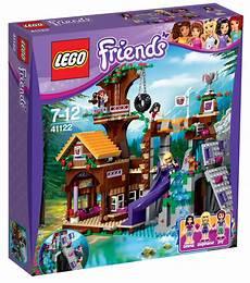 Malvorlagen Lego Friends House Lego Friends Adventure C Tree House 41122
