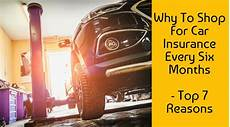 what year was car insurance mandatory why to shop for car insurance every six months top 7 reasons