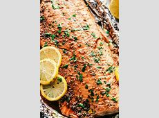 The Best Baked Salmon Ever,BEST Baked Lemon Garlic Salmon | The Mediterranean Dish,World's best and easiest salmon|2020-04-27