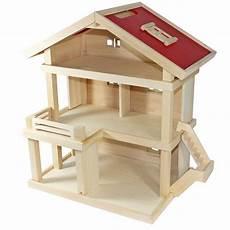 puppenhaus zum selber bauen villa freda puppenhaus stadtvilla aus holz mit 3 etagen