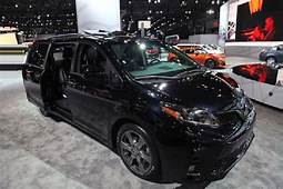 2019 Toyota Sienna Spy Shots Review Redesign  Spirotourscom