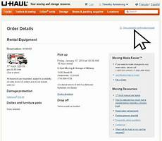 u haul receipt copy u haul storage payments dandk organizer