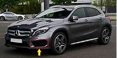 genuine mercedes gla class x156 amg set of front