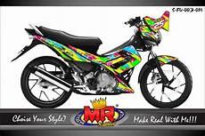 Stiker Motor Matic Keren by Contoh Desain Stiker Motor Keren Desain Ratuseo
