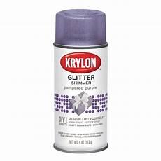 krylon glitter shimmer spray paint 4 oz purple walmart com