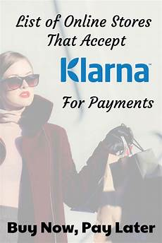 shops mit klarna line stores that accept klarna to buy now pay later