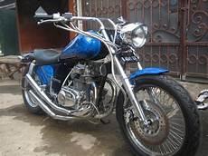 Motor Modif Dijual by Info Harga Motor Jakarta Info Dijual Cb 200 Modif Chooper