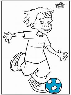Ausmalbilder Jungs Fussball Junge Mit Fu 223 Malvorlagen Fu 223