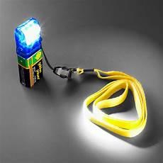 led leuchte power beam mit 9v batterie m s solution
