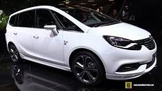 2017 Opel Zafira Elite 1 4 Turbo 140hp Exterior And