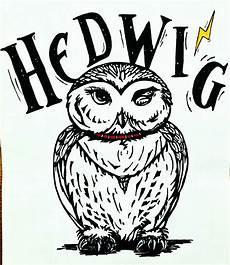 Eule Hedwig Malvorlage Hedwig By Me Harry Potter Kunst Wenn Du Mal