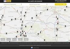 radar fixe carte le gouvernement met en ligne une carte des radars