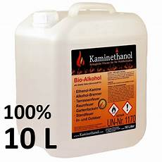 Bio Ethanol 100 - bioethanol 100 im 10 l kanister 100 10 liter kanister