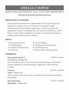 usda farm service agency program technician resume sle