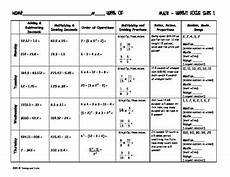 science review worksheets 6th grade 12383 6th grade ccss daily math review skills by tammy and julie tpt
