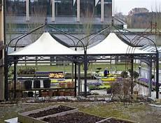 Gartenpavillon Metall 4x4 - metall anbau gartenpavillon