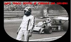 15 Most Tragic Deaths Of Formula One Drivers F1 Formula