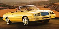 The 1982 Chrysler Lebaron Convertible Retains Style At Speed