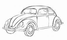 Malvorlagen Autos Vw Vw Beetle Iconic Bug Car Coloring Sheet