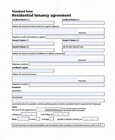 free 7 generic rental agreement form sles in sle