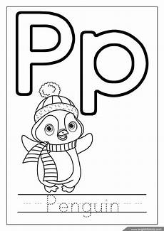 Ausmalbilder Buchstaben P Alphabet Coloring Pages Letters K T