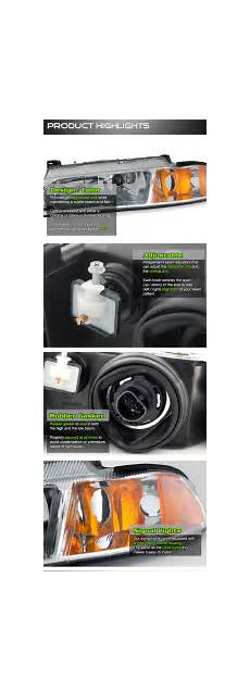 airbag deployment 1996 plymouth breeze engine control 1995 2000 dodge stratus replacement crystal headlights black
