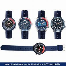 Bakeey 22mm Checked Silicone by Bakeey 20mm 22mm Blue Silicone Band For Seiko Omega