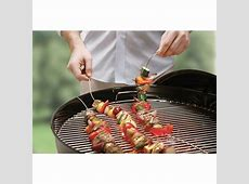 FireWire® special flexible grilling skewer for marinating