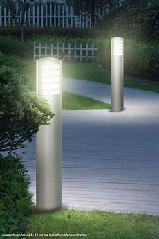 design stehleuchte au 223 en leuchte edelstahl garten le